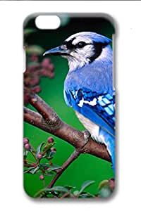 3D Surrounded All Printed Technology Case For iPhone 6 Apply To 4.7 Inch Hard case non-slip case Coloured Drawingcase Easy To Operate Colored Bird Green