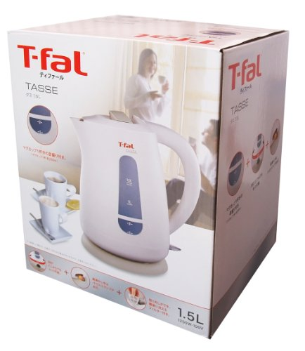Tefal TASSE 1.5 liter electric kettle electric kettle, used for sale  Delivered anywhere in USA