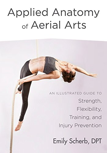Amazon applied anatomy of aerial arts an illustrated guide to applied anatomy of aerial arts an illustrated guide to strength flexibility training fandeluxe Choice Image