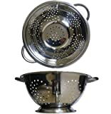 "Al-de-chef Collander 9.5"" Stainless Steel"