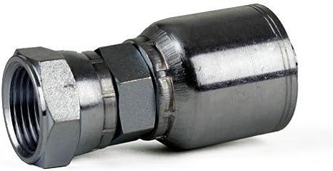 10 Pack Erie Tools FJX-04-06 1//4 Hose x 3//8 JIC 37/° Female Swivel Hydraulic Hose Fitting