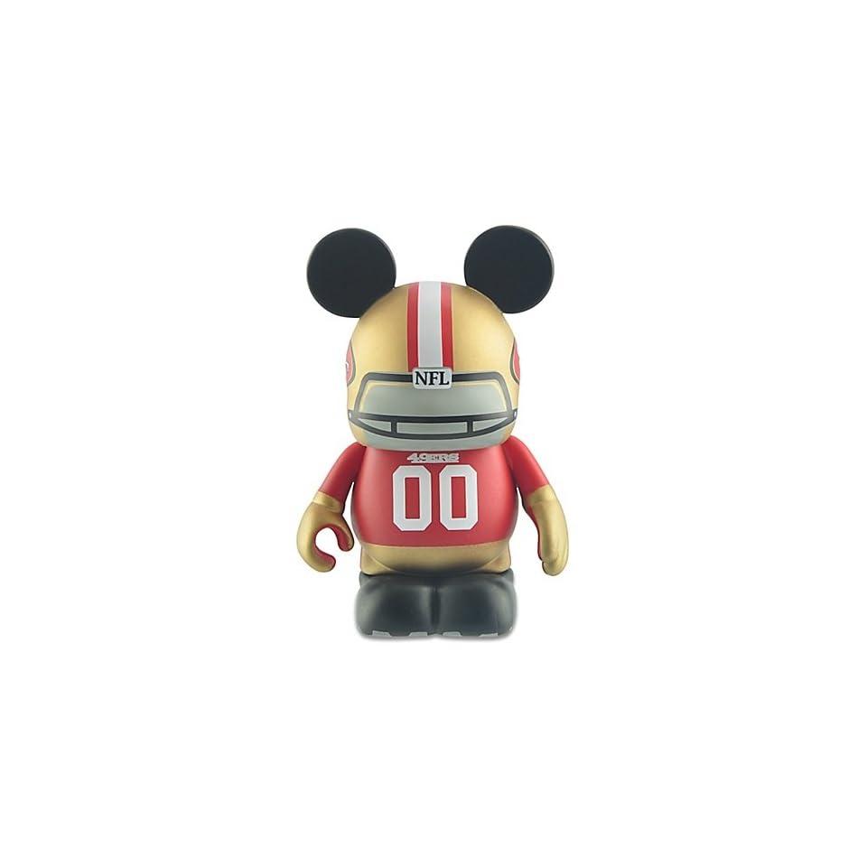 Disney Vinylmation National Football League NFL San Francisco 49ers 3 Inch Vinyl Figure