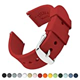 Best Replacement Silicones - Archer Watch Straps Silicone Quick Release Soft Rubber Review