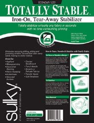 Bulk Buy: Sulky Totally Stable Iron On Tear Away Stabilizer