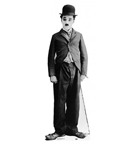 Charlie Chaplin - Little Tramp - Advanced Graphics Life Size Cardboard Standup