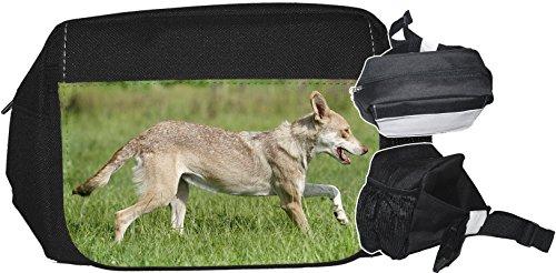 +++ SAARLOOS WOLFHUND Wolfhound - GÜRTELTASCHE Bauchtasche Futterbeutel HÜFTTASCHE Tasche - SAW 02