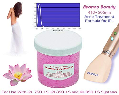 Acne Formula 400-505nm Filter Cooling and Coupling Gel for Laser and IPL Permanent Hair Removal Machines, Systems, Devices