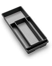 Madesmart 3 Tray Pack, Granite