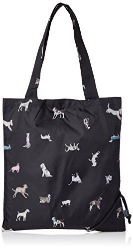 Tom Joule Damen Pacabag Tote, 1x39x36 centimeters Blau (French Navy Dog)