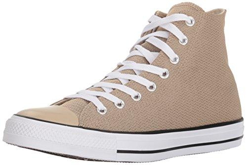 Converse Menns Chuck Taylor All Star Basketweave Høy Topp Sneaker Vintage  Khaki / Sort / Hvit
