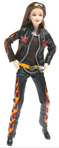 Harley Davidson Collectible Doll (Barbie Harley-Davidson)