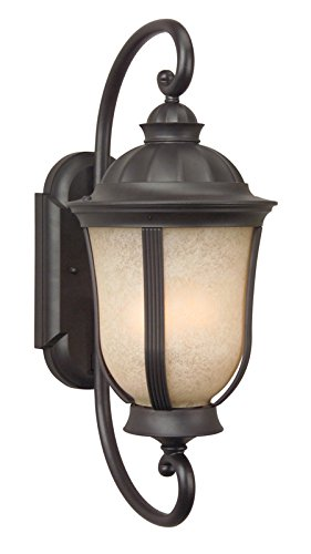 Outdoor Lighting Fixtures Stained Glass in US - 7