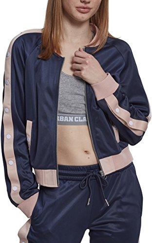 Urban Classics Ladies Button Up Track Jacket, Chaqueta ...