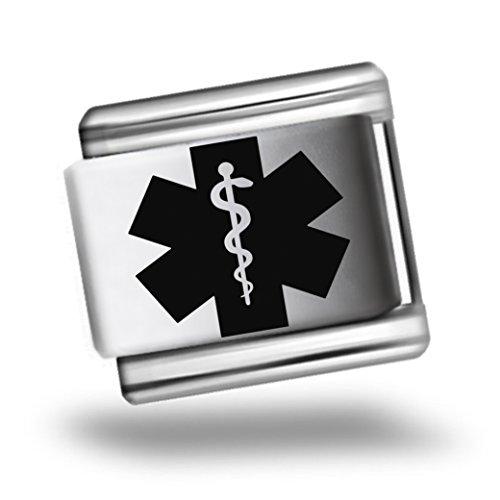 medical-alert-laser-etched-italian-charm-bracelet-link