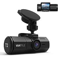 Vantrue T2 24/7 Surveillance Super Capacitor Dash Cam...