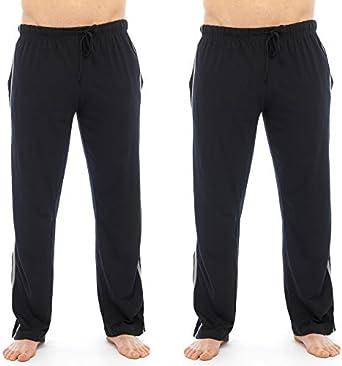 Confezione da 2 Pantaloni a Strisce da casa Pigiama da Uomo