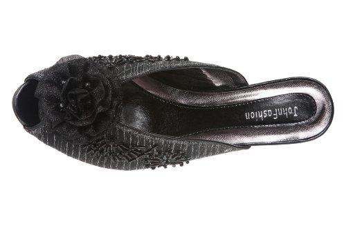 JohnFashion - Sandalias de vestir para mujer negro