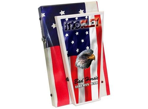 Morley Steve Vai Liberty Wah Guitar Effects Pedal American Flag (Volume Power Pedal Wah Morley)