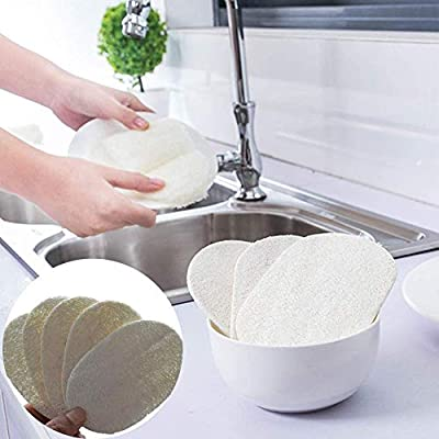 Amacoam Estropajo Natural Cocina Esponja Natural Biodegradable ...