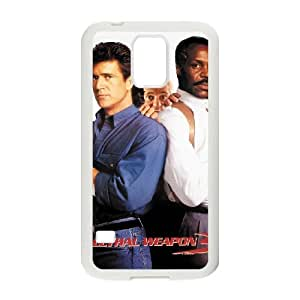 Lethal Weapon Samsung Galaxy S5 Cell Phone Case White MUS9199956