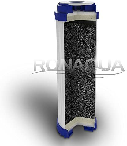 FXUTC GAC-10 Granular Activated Carbon Water Filter Cartridge by Ronaqua WELL-MATCHED with WFPFC9001 AP117 2 Pack GAC1