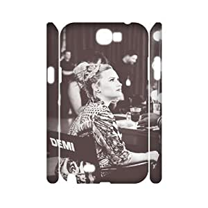 linfenglin Demi Lovato Customized Hard 3D Case For Samsung Galaxy Note 2 N7100