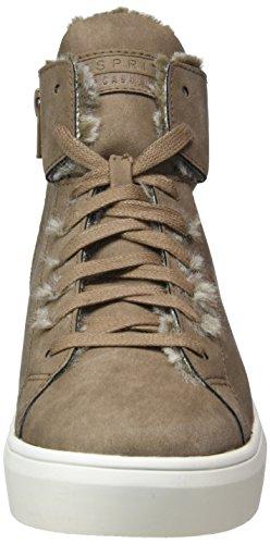Hautes Esprit Femme Bootie taupe Sneakers Elda Marron qRFtARpWU