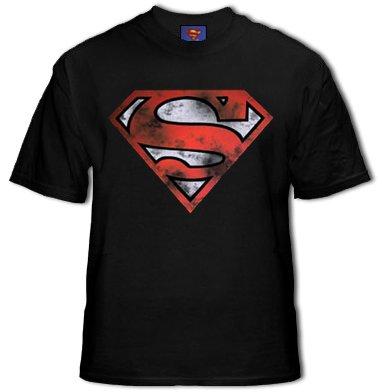 Superman Is Dead War Torn Logo T-Shirt #Floor