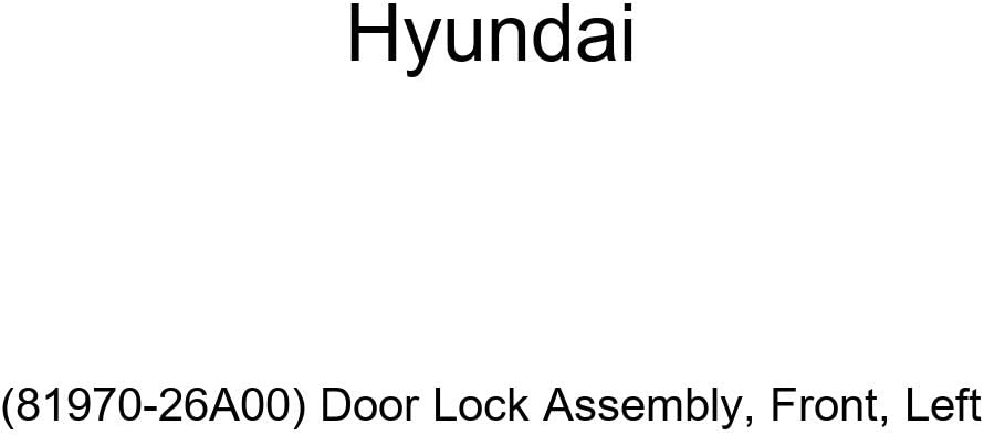 Left Front Door Lock Assembly Genuine Hyundai 81970-26A00