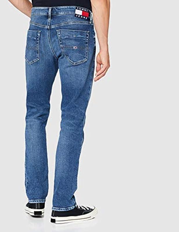 Tommy Jeans Męskie Scanton Slim Brmbcf Hose: Odzież