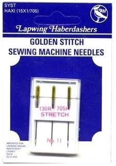Habico oro de punto de elástico Agujas para máquina de coser ...