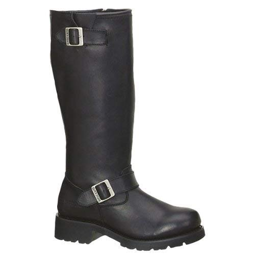Adtec Men's 16 Inch Engineer Motorcycle Boot, Black, 12 M US by Adtec