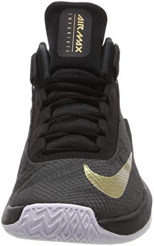 Papá Cita Detectar  Nike AA7066-002 AIR MAX INFURIATE BASKETBOL AYAKKABISI SİYAH 43:  Amazon.com.tr