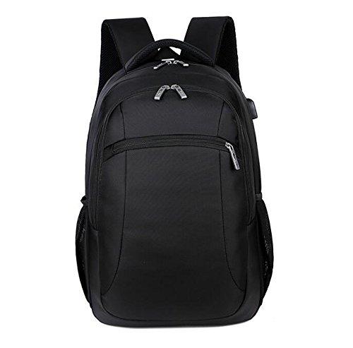 Große Kapazität Rucksack Rucksack Männer Business Notebook Tasche black