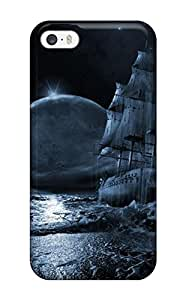 For Iphone 5/5s Protector Case Futuristic Fantasy World Phone Cover