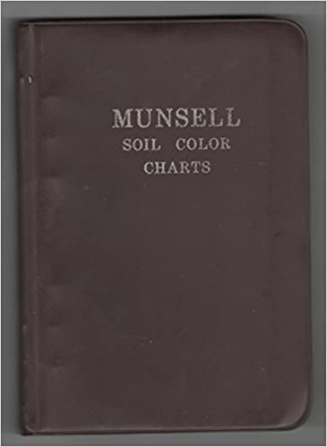 munsell soil color chartsseven charts 9789991451848 amazoncom books - Munsell Soil Color Book
