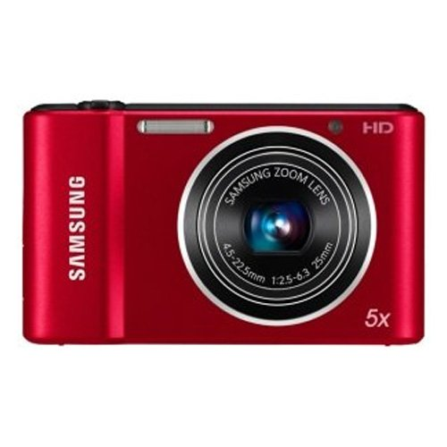 Samsung Shoot Point - Samsung ST66 16 MP Compact Digital Camera - Red (EC-ST66ZZBPRUS)