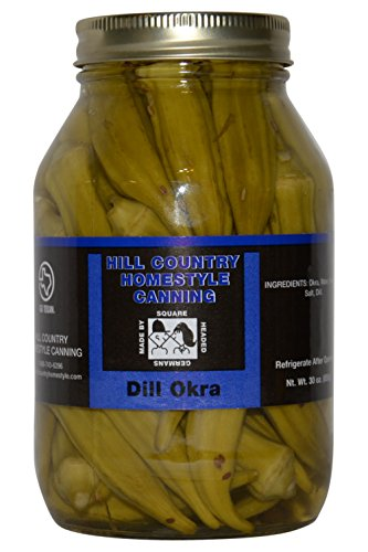 Texas Hill Country Pickled Dill Okra 30 oz