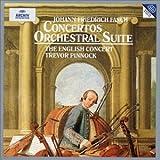 Fasch: Concertos & Orchestral Suite /Pinnock