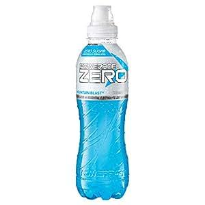 Powerade ION4 Mountain Blast Zero Sports Drink, 12 x 600 ml