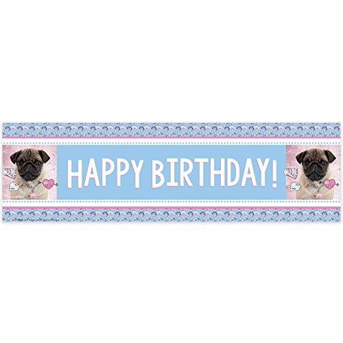 Rachael Hale Dog Love Birthday Banner (1)
