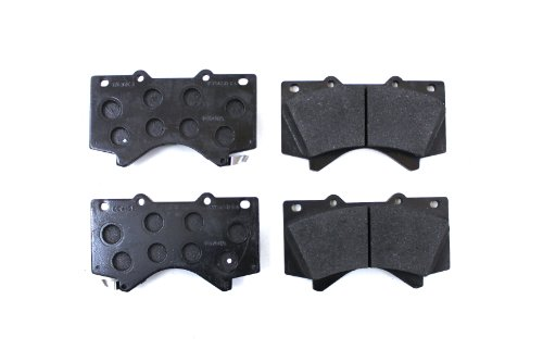 Toyota Brake - Toyota Genuine Parts 044650C020 Front Brake Pad Set