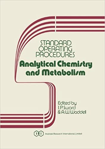 Standard Operating Procedures Analytical Chemistry and Metabolism (v