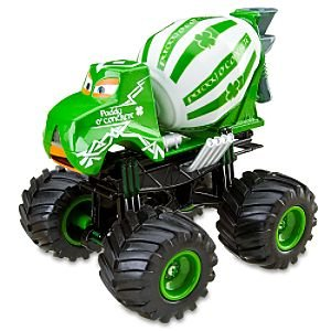 Amazon Com Disney Cars Toon Paddy O Concrete Monster Truck Toys