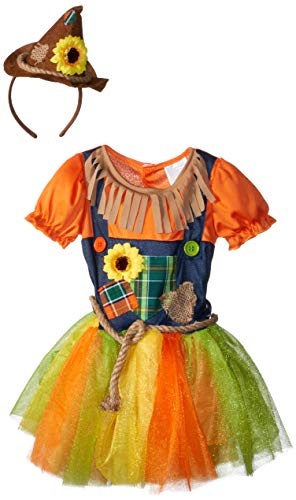 Fun World Sweet Scarecrow Toddler Costume, Multicolor, Large