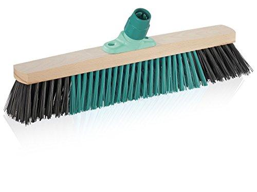 Leifheit 45007 Outdoor Bezem Xtra Clean, 50 cm, zonder steel