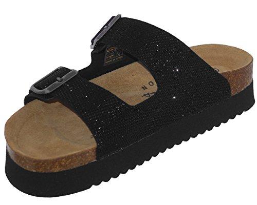 Pepe Jeans Women's Oban Blim Mules 999 Black (Noir) 8o2Lh7