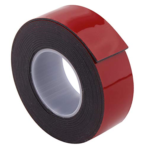 (AIICIOO Heavy Duty Mounting Tape - Double Coated Adhesive Tape with Acrylic Foam Tape 1 in x 9 ft Black)