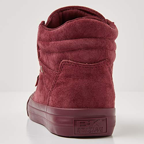 Red Burgundy 03 Trainers Women's Knights Dee Burgundy British Top Hi BqZnA