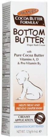 Palmer's Cocoa Butter Formula Bottom Butter Nappy Rash Cream 125g by E.T. Browne (U.K.) Ltd